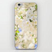Delicate White Cherry Bl… iPhone & iPod Skin