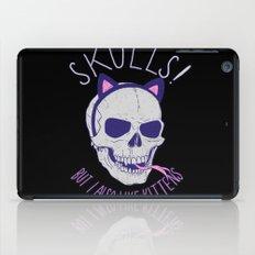 Skulls and Kittens iPad Case