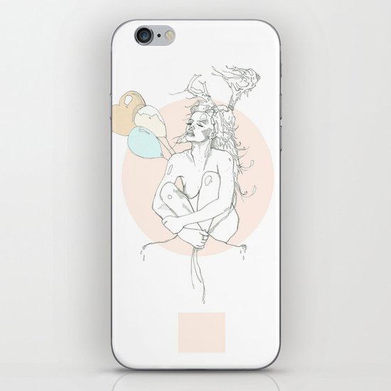 milk toast iPhone & iPod Skin