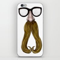 Glasses iPhone & iPod Skin