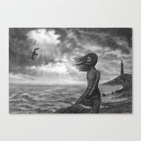The Lighthouse Keeper's … Canvas Print