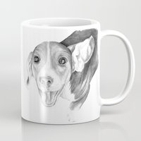 A Story To Tell :: A Beagle Puppy Mug