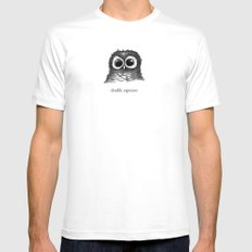 double espresso Mens Fitted Tee White SMALL