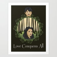 Once Upon A Time - Two H… Art Print