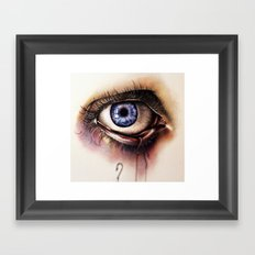 You Caught My Eye (again… Framed Art Print