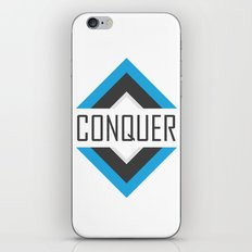 CONQUER iPhone & iPod Skin