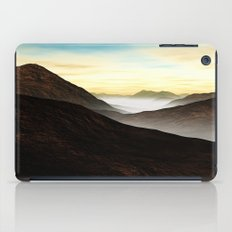 Foggy Mountains iPad Case