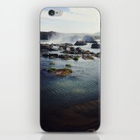 where the water falls iPhone & iPod Skin