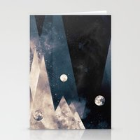 Escape, from planet earth Stationery Cards