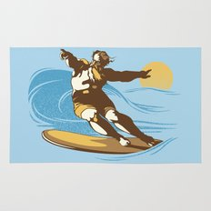 God Surfed Rug