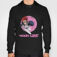 Moon Girl Punch-Out Hoody