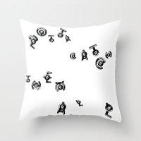 Unown - Pokemon Throw Pillow