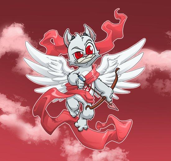 Cupid Evil Art Print