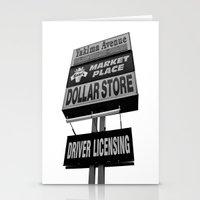 Yakima Ave. Plaza Stationery Cards