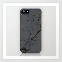 Study In Black Iphone Ca… Art Print