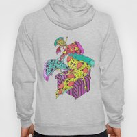 Pizza Eating Pizza - Blu… Hoody