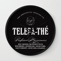 TELEPA-THÉ Wall Clock