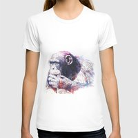 monkey T-shirts featuring Monkey by Cristian Blanxer