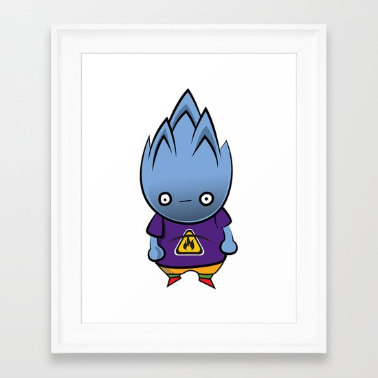 Flammable Framed Art Print