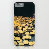 Gold Coins iPhone 6 Slim Case