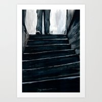 The Basement Bloody Reeks Art Print