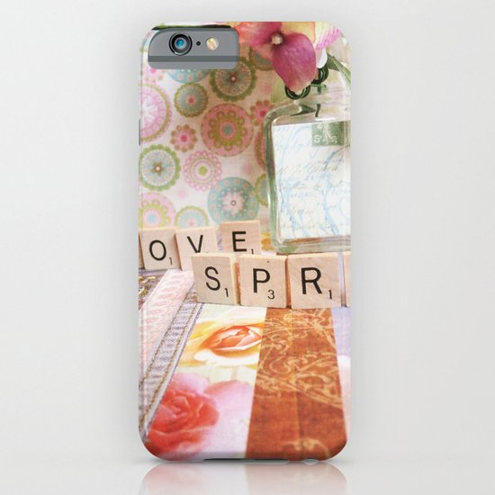 I Love Spring iPhone & iPod Case