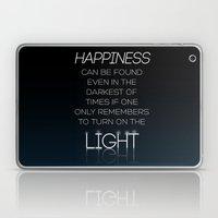 Harry Potter Albus Dumbledore Quote Laptop & iPad Skin