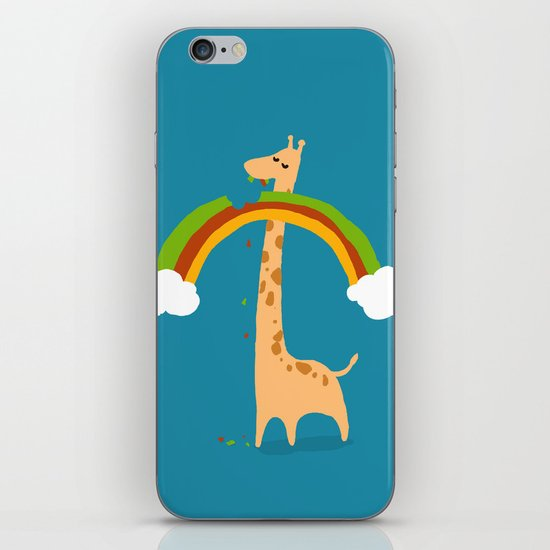 Taste of Happiness Rainbow iPhone & iPod Skin