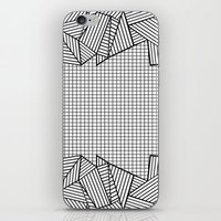 Grids and Stripes   iPhone & iPod Skin