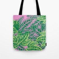 Zebra Plant  Tote Bag