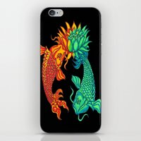 Koi Fish Lotus iPhone & iPod Skin