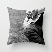 Music. Throw Pillow
