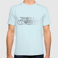 Just bike Mens Fitted Tee Light Blue SMALL