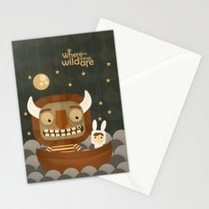 Where the wild things are fan art Stationery Cards