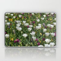 Blumen Beet  Laptop & iPad Skin
