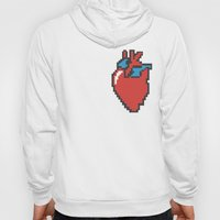 i heart 8-bit Hoody