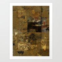 Sedimenti 68 Art Print