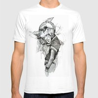 Dream Cycle Mens Fitted Tee White SMALL