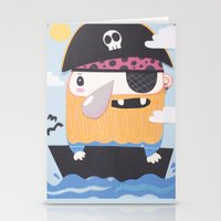 Pirate Pete Stationery Cards