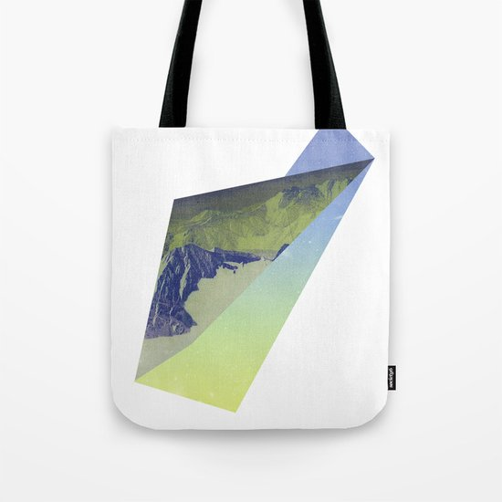 Triangle Mountains Tote Bag