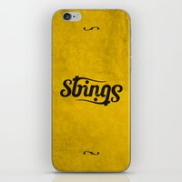 Strings iPhone & iPod Skin