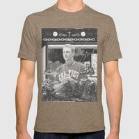 Dream House Mens Fitted Tee Tri-Coffee SMALL