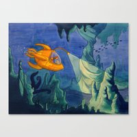 Deep Sea Adventure Canvas Print
