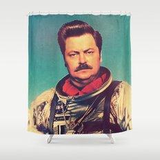 American Hero Shower Curtain