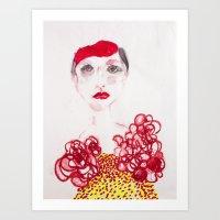 Cameo #3 Art Print