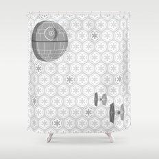 Star Wars Death Star, Ti… Shower Curtain