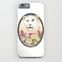 iPhone & iPod Case featuring Lion and Roses by Yuliya