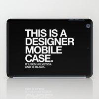THIS IS A DESIGNER... iPad Case