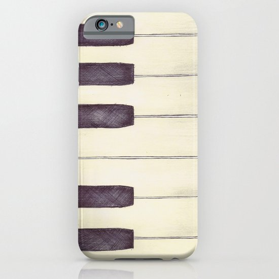 Ebony and Ivory iPhone & iPod Case