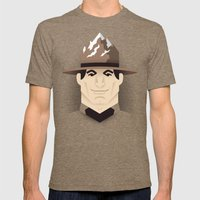 Mountie Mens Fitted Tee Tri-Coffee SMALL